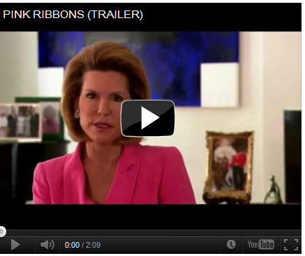 On the Heels of the Susan G. Komen for the Cure Foundation's Hard Tack to the Right: See This Documentary, Pink Ribbon Inc.