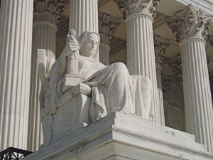 Supreme Court Building: Contemplation of Justice
