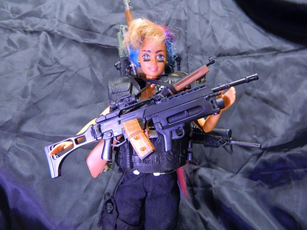 Guns! Gun Crazy Barbie